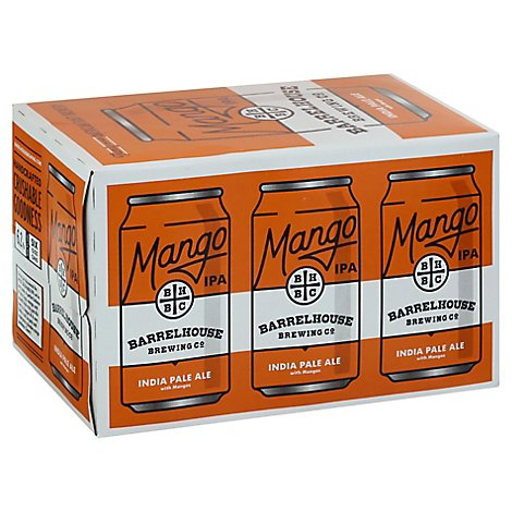 Barrelhouse Mango Ipa In Cans - 6-12 Fl. Oz.