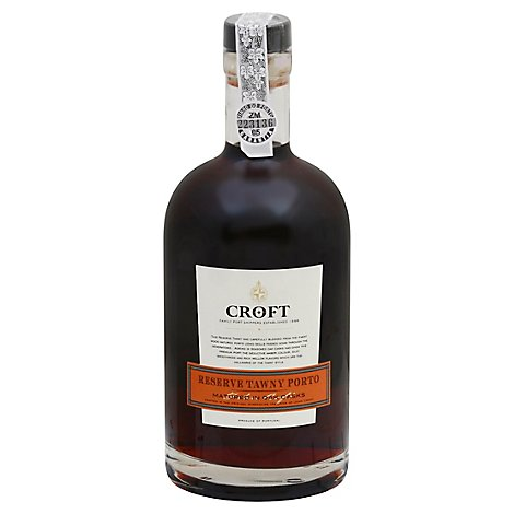 Croft Wine Reserve Tawny Porto - 750 Ml