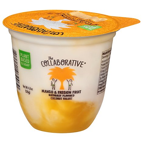 The Coconut Collaborative Yogurt Alternative Dairy Free Mango Passionfruit - 4.2 Oz