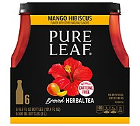 Pure Leaf Mango Hibiscus Brewed Herbal Tea - 6-16.9 Fl. Oz.