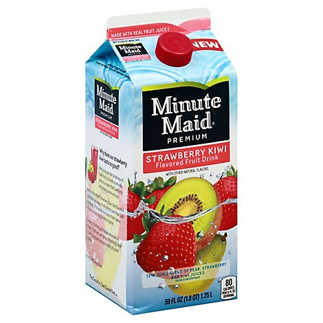 Minute Maid Premium Fruit Drink Strawberry Kiwi - 59 Fl. Oz.