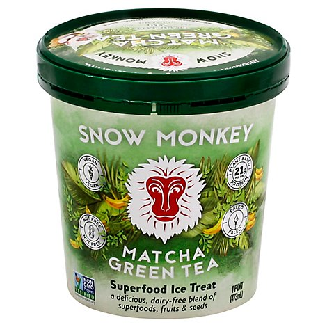 Snow Monk Treat Ice Suprfd Matcha - 16 Oz