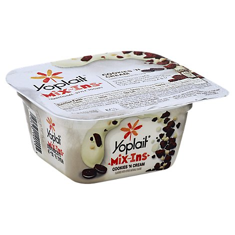 Yoplait Mixins Yogurt Traditional Style Cookies N Cream - 5.3 Oz