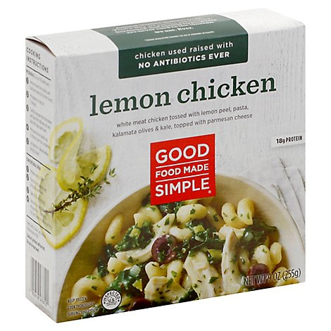 Good Food Made Simple Entree Lemon Chicken - 9 Oz