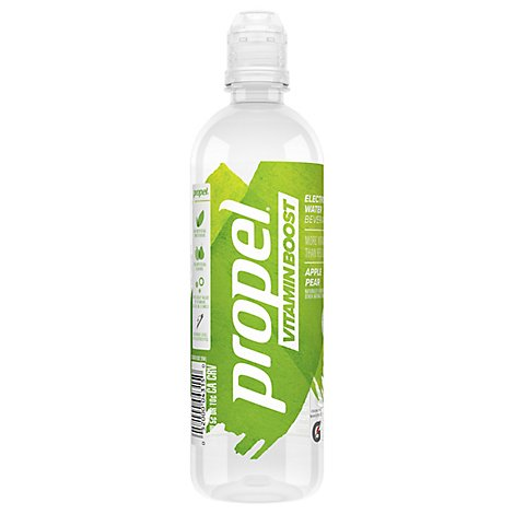 Propel Vitamin Boost Electrolyte Water Beverage Apple Pear - 20 Fl. Oz.