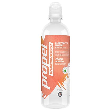 Propel Vitamin Boost Electrolyte Water Beverage Peach Mango - 20 Fl. Oz.