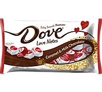 Dove Promises Silky Smooth Love Notes Caramel & Milk Chocolate - 7.94 Oz