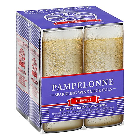 Pampelonne French 75 Cans Wine - 4-8 Fl. Oz.