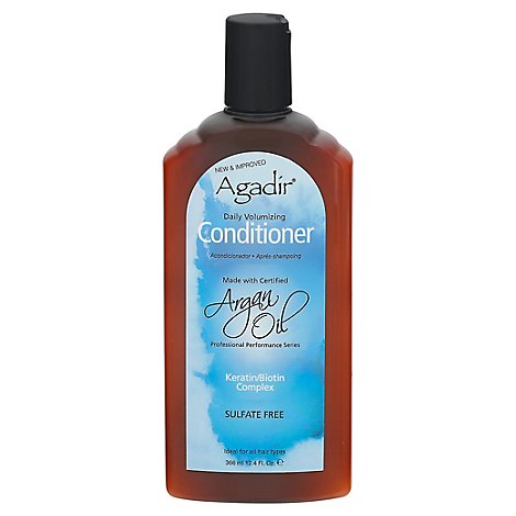 Agadir Vol Daily Conditioner - 12.4 Fl. Oz.