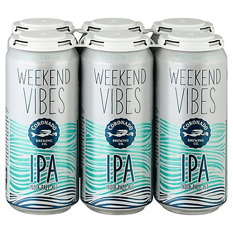 Coronado Brewing Company Weekend Vibes In Cans - 6-16 Fl. Oz.