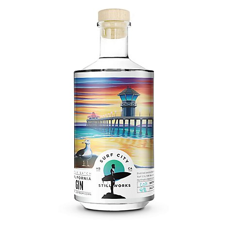 Surf City California Gin - 750 Ml