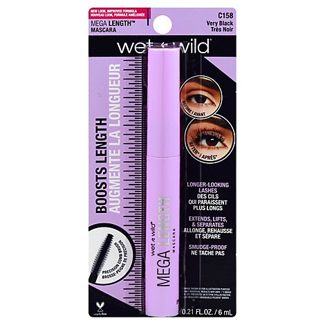 Wnw Mega Length Mascara - Each