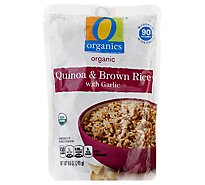O Organics Quinoa & Brown Rice W/Garlic 90 - 8.8 Oz