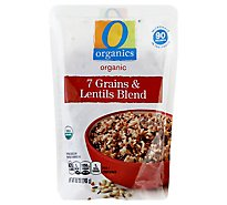 O Organics 7 Grains & Lentils 90 Seconds - 8.8 Oz