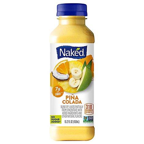 Naked Juice Fruit Smoothie, Pina Colada, 15.2 oz Bottle