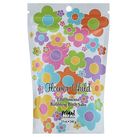 Primal Elements Flower Child Bath Salts - 12 Oz