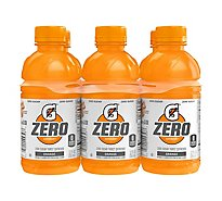 Gatorade G Zero Sugar Orange - 6-12 Fl. Oz.