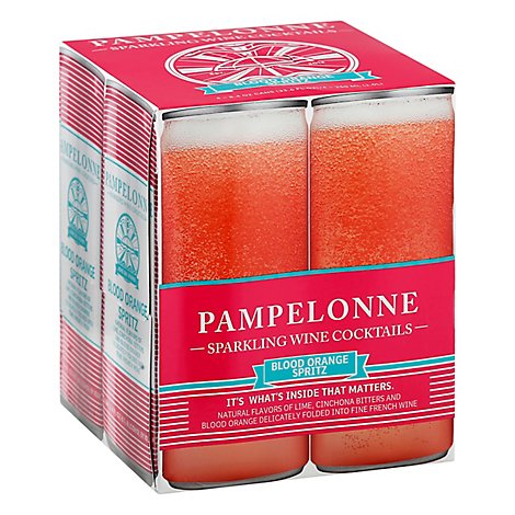Pampelonne Blood Orange Spritz Can Wine - 4-8 Fl. Oz.