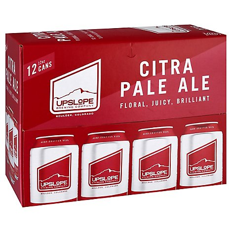 Upslope Citra Pale Ale In Cans - 12-12 Oz