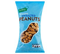Signature Farms Peanuts Roasted & Unsalted - 10 Oz