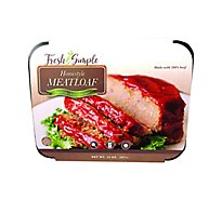 Fresh & Simple Homestyle Sweet Tomato Sauce Meatloaf - 14 Oz