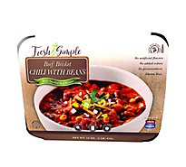 Fresh & Simple USDA Choice Beef Brisket Chili - 16 Oz