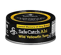 Safecatch Tuna Ahi Wild - 5 Oz