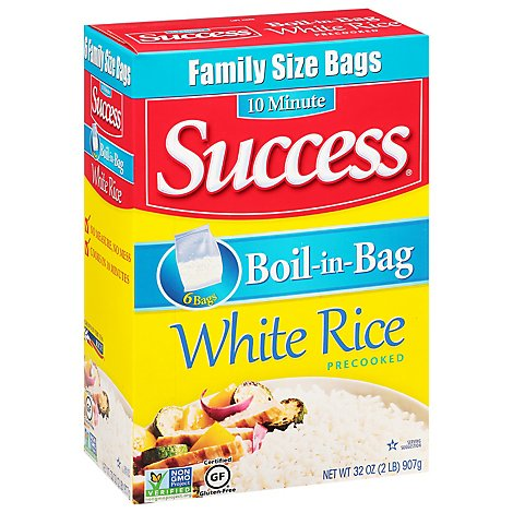 Success White Rice Boil In Bag Family Size - 32 Oz