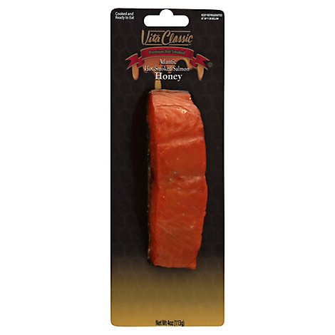 Vita Hot Salmon Smoked Honey - 4 Oz