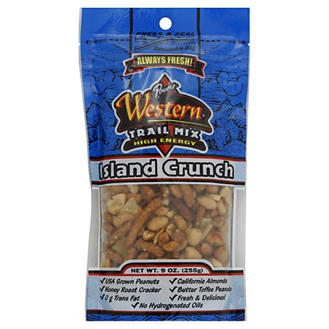 Powers Western Trail Mix Island Crunch - 9 Oz