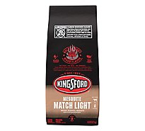 Kingsford Charcoal Briquets Match Light Mesquite - 8 Lb