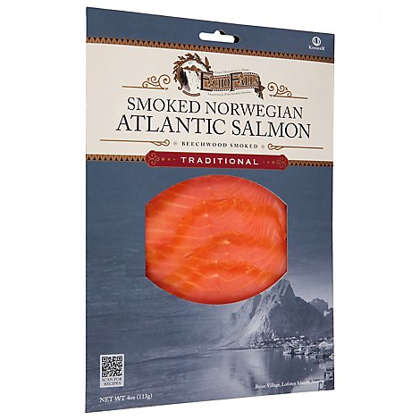Echo Falls Salmon Atlantic Smoked Norwegian - 4 Oz