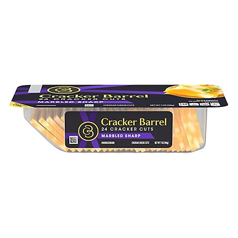 Cracker Barrel Cracker Cuts Natural Cheese - 7 Oz