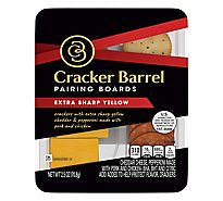 Cracker Barrel Pairing Boards Extra Sharp Yellow - 2.5 Oz