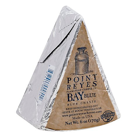 Point Rey Cheese Bay Blue Wedge - 6 Oz
