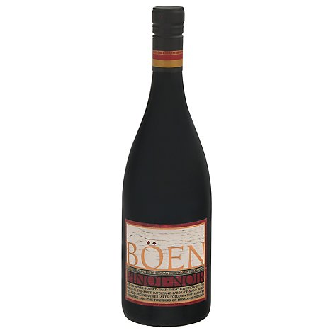 Boen Wine Pinot Noir Tri Appelation - 750 Ml