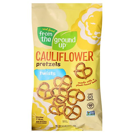 From The  Pretzel Twist Cauliflower - 4.5 Oz