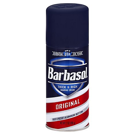 Barbasol Shaving Cream Original - 7 Oz