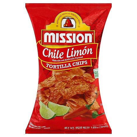 Mission Chile Limon Chips - 7.05 Oz