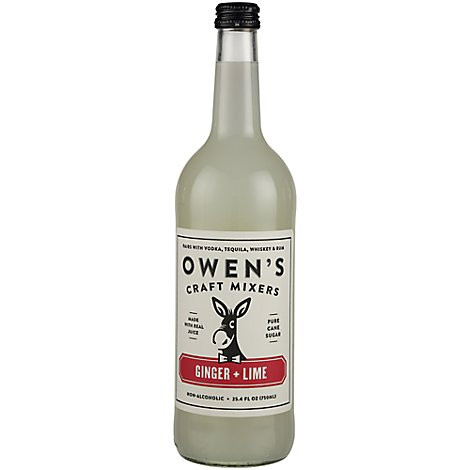 Owens Craft Mixers Ginger Beer Lime - 750 Ml