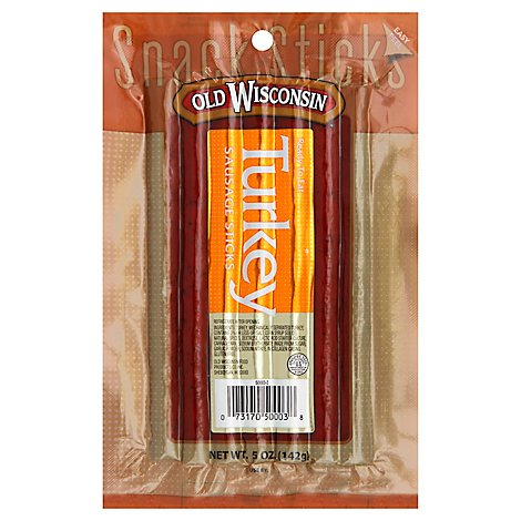 Old Wisconsin Turkey Sausage Sticks - 5 Oz