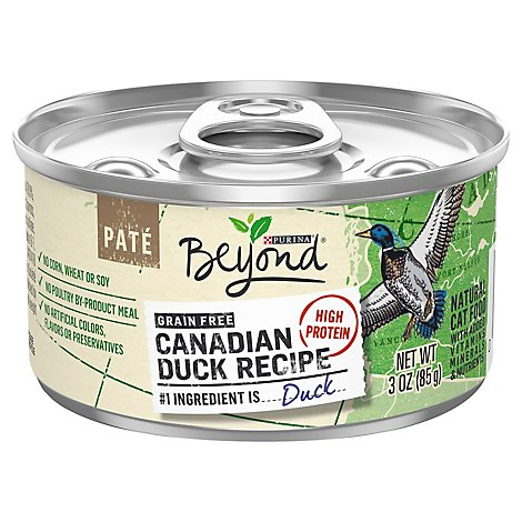 Beyond Cat Food Wet Canadian Duck - 3 Oz