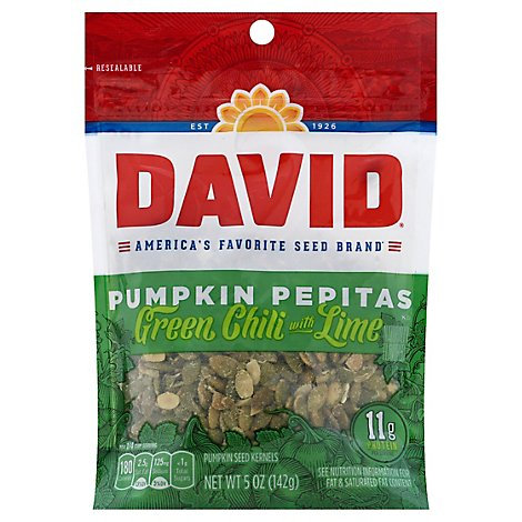 David Pumpkin Pepitas Sea Salt - 5 Oz