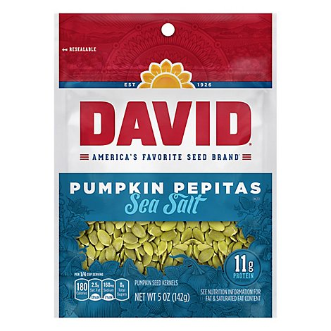 David Pumpkin Pepitas Green Chili With Lime - 5 Oz