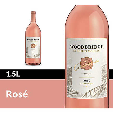 Woodbridge by Robert Mondavi Wine Rose Blush - 1.5 Liter