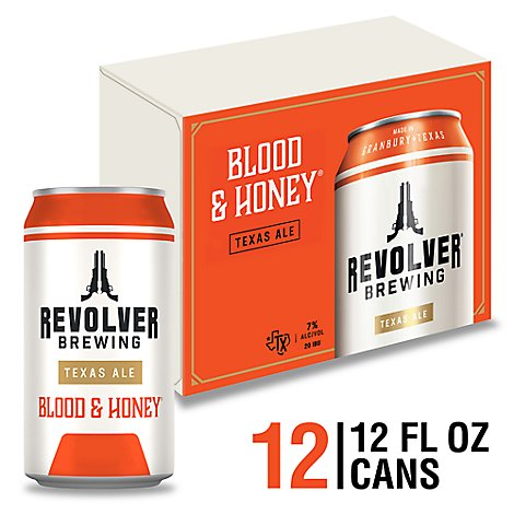 Revolver Blood & Honey In Cans - 12-12 Fl. Oz.
