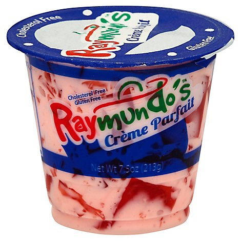 Raymundos Creme Parfait Strawberry - 7.5 Oz