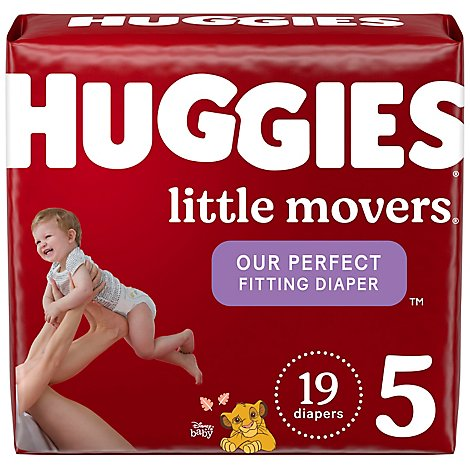 Huggies Little Movers Diapers Disney Baby Size 5 - 19 Count