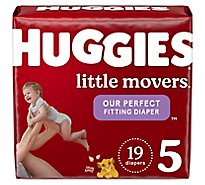 Huggies Little Movers Diapers Size 5 - 19 Count
