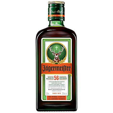 Jagermeister Liqueur 70 Proof Coolpack Pet - 375 Ml